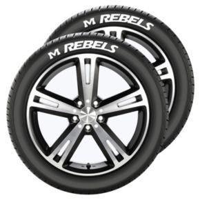 Ole Miss Rebels Tire Tatz
