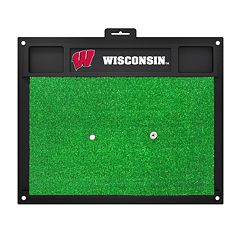 FANMATS Wisconsin Badgers Golf Hitting Mat