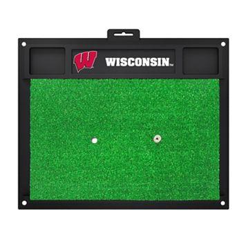 FANMATS Wisconsin Badgers Golf Hitting Mat