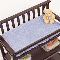 Nurture Elephant Jubilee Velour Changing Pad Cover