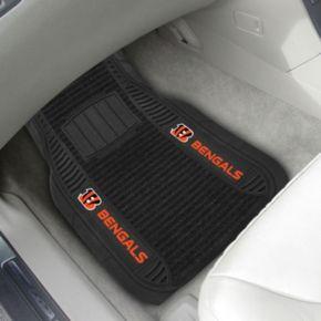 FANMATS 2-pk. Cincinnati Bengals Deluxe Car Floor Mats