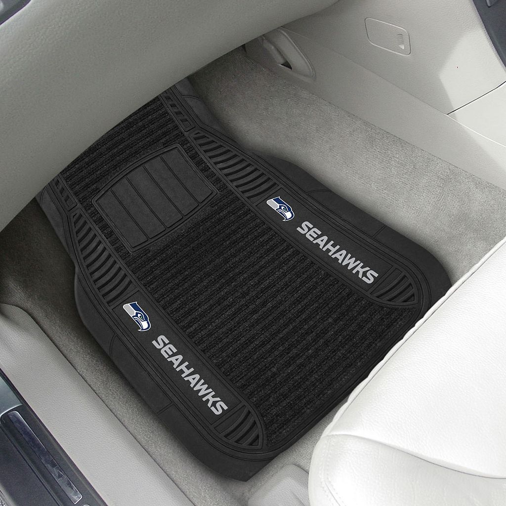 FANMATS 2-pk. Seattle Seahawks Deluxe Car Floor Mats