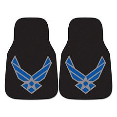 FANMATS 2 pkUS Air Force Carpeted Car Floor Mats