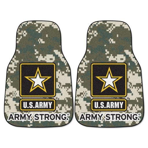 FANMATS 2-pk. US Army Carpeted Car Floor Mats