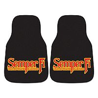 FANMATS 2-pk. US Marine Corps Carpeted Car Floor Mats