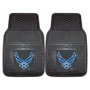FANMATS 2-pk. US Air Force Vinyl Car Floor Mats