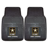 FANMATS 2-pk. US Army Vinyl Car Floor Mats
