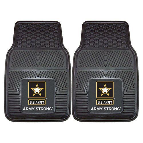 FANMATS 2-pk. US Army Vinyl Car Floor Mats
