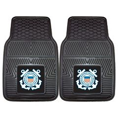 FANMATS 2-pk. US Coast Guard Vinyl Car Floor Mats