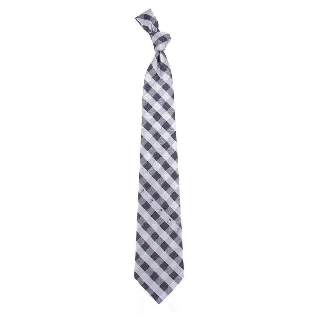 NBA Check Woven Tie