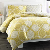 City Scene Wonderlust Reversible Duvet Cover Set