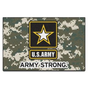 FANMATS US Army Starter Rug - 19'' x 30''