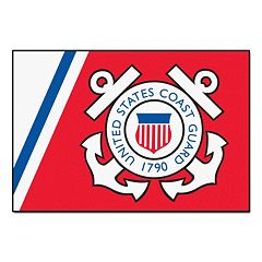 FANMATS US Coast Guard Starter Rug - 19'' x 30''