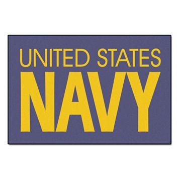FANMATS US Navy Starter Rug - 19'' x 30''
