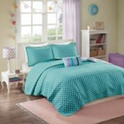 Mi Zone Audrina Reversible Quilt Set