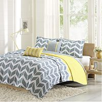 Intelligent Design Peyton Coverlet Set