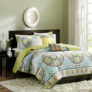 Madison Park Bali 6-pc. Quilt Set