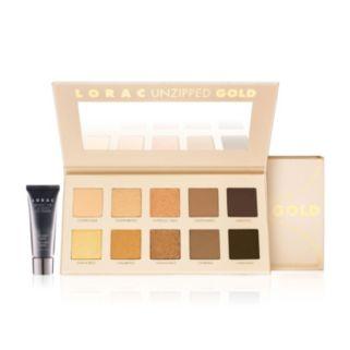 LORAC Unzipped Gold Eyeshadow Palette and Eye Primer Set