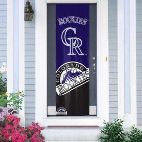 Colorado Rockies Door Banner