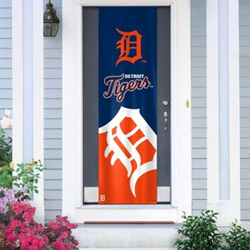 Detroit Tigers Door Banner