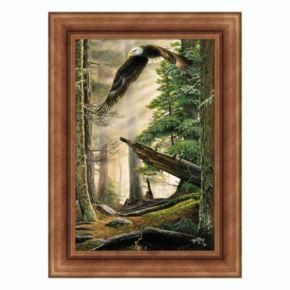 Reflective Art ''American Heritage'' Framed Canvas Wall Art