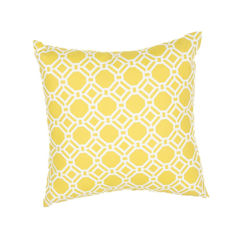 Kohls Yellow Throw Pillow : Yellow Imported Throw Pillow Kohl s