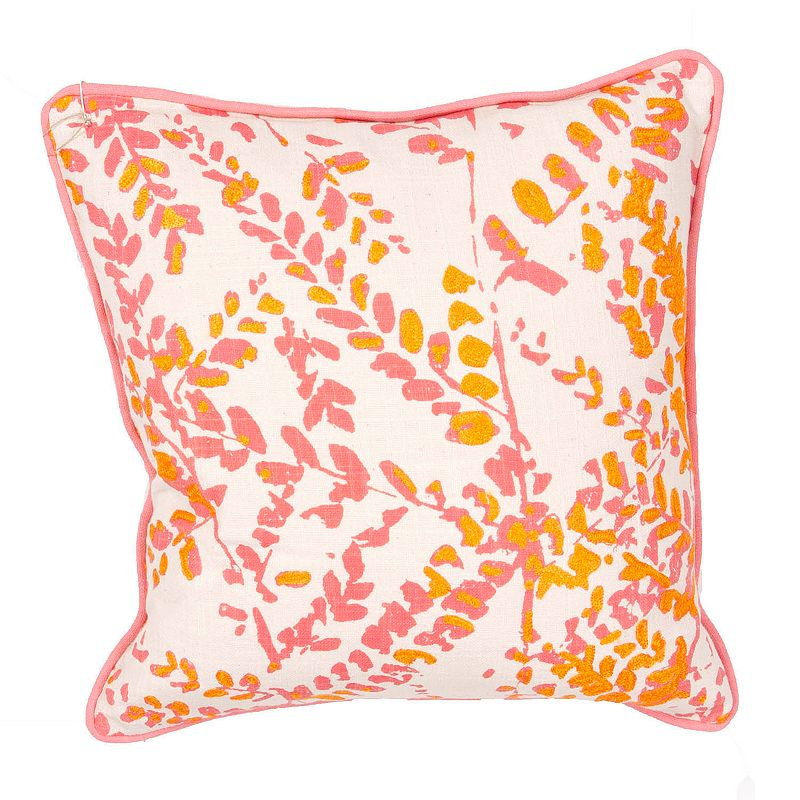 Yellow Throw Pillows At Kohls : Yellow Cotton Pillow Kohl s