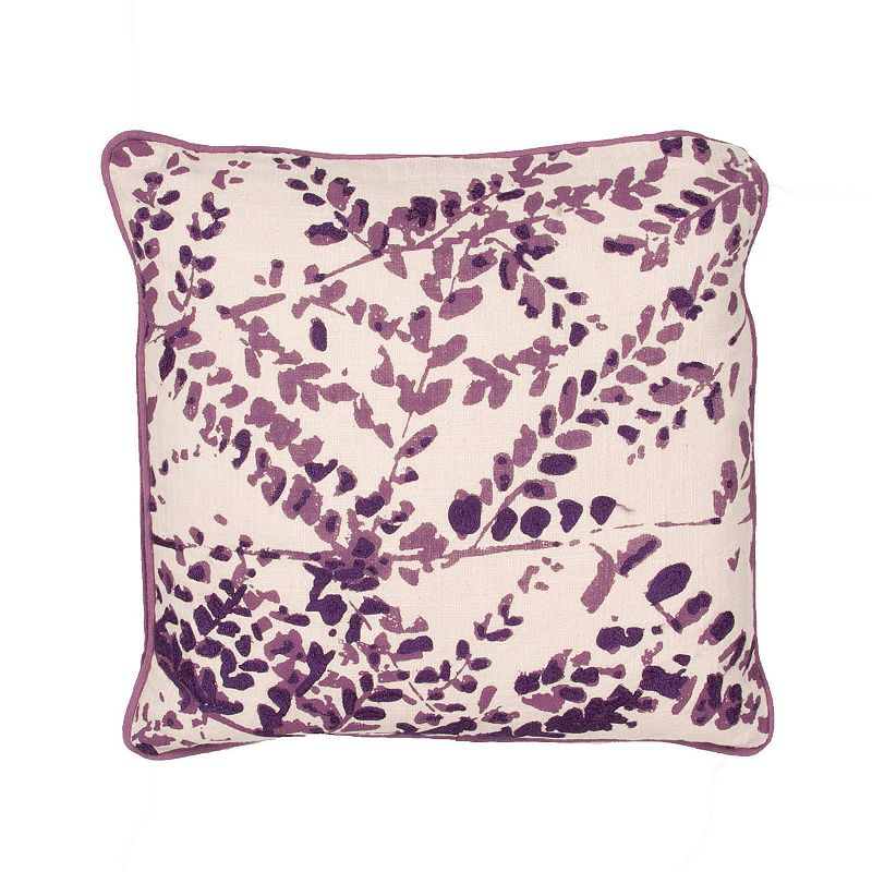 Kohls Purple Throw Pillows : Pink Zipper Throw Pillow Kohl s