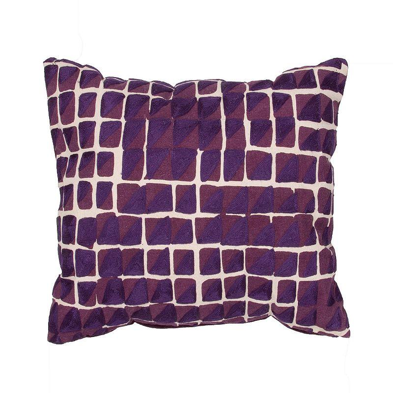 Square Zippered Throw Pillow Kohl s