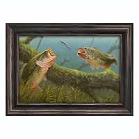 Reflective Art ''Dinner for Two'' Framed Canvas Wall Art