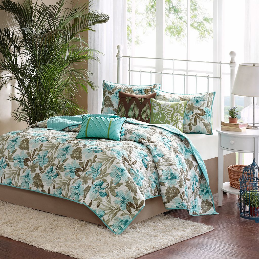 Madison Park Barbados 6-pc. Coverlet Set