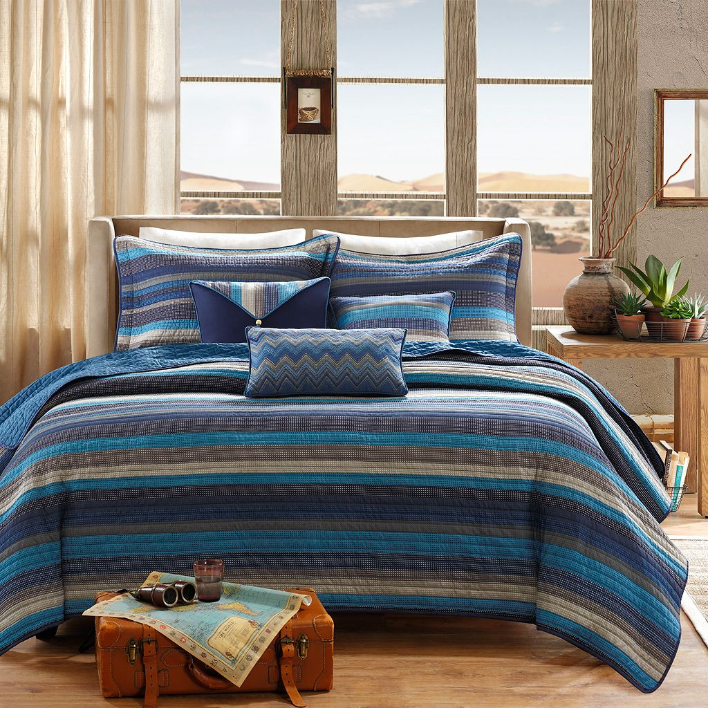 Madison Park Cabrillo 6-pc. Coverlet Set