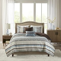 Madison Park Dartmouth 5-pc. Coverlet Set