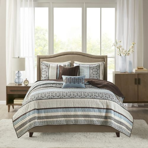 Madison Park Dartmouth 5 Pc. Coverlet Set by Kohl's