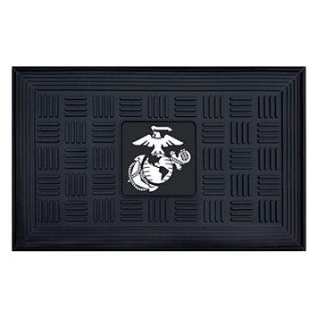 FANMATS US Marine Corps Medallion Doormat