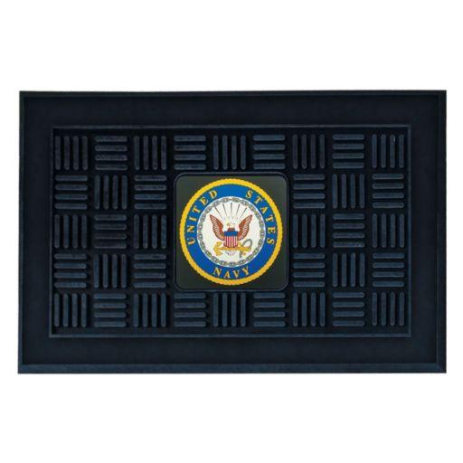 FANMATS US Navy Medallion Doormat