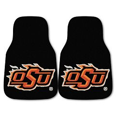 FANMATS 2-pk. Oklahoma State Cowboys Carpeted Car Floor Mats