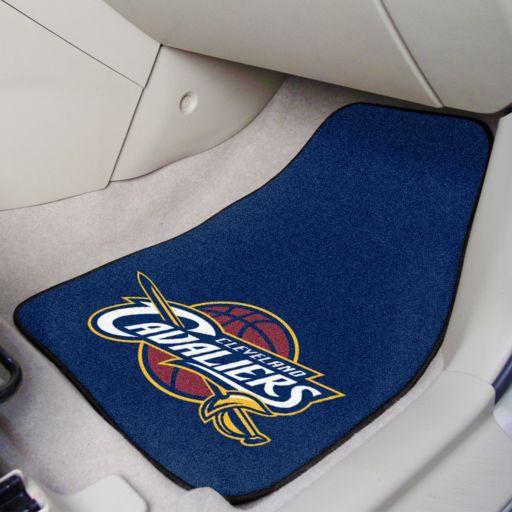 FANMATS 2-pk. Cleveland Cavaliers Carpeted Car Floor Mats
