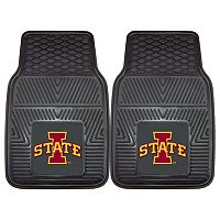FANMATS 2-pk. Iowa State Cyclones Vinyl Car Floor Mats