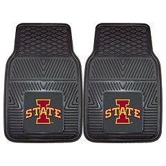 FANMATS 2-pk. Iowa State Cyclones Vinyl Car Floor Mats