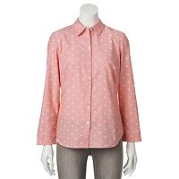 Croft & Barrow® Oxford Shirt - Women's