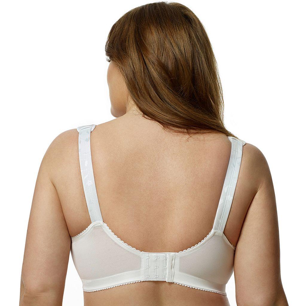 Elila Bra: Jacquard Full-Figure Bra 1305
