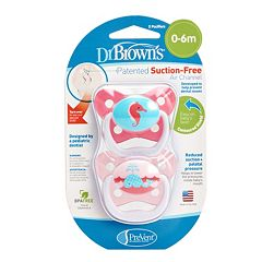 Dr. Brown's PreVent Stage 1 Orthodontic Pacifier