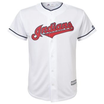 Boys 8-20 Majestic Cleveland Indians Replica MLB Jersey