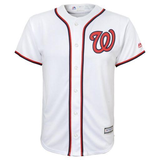 Boys 8-20 Majestic Washington Nationals Replica MLB Jersey