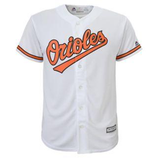 Boys 8-20 Majestic Baltimore Orioles Replica MLB Jersey