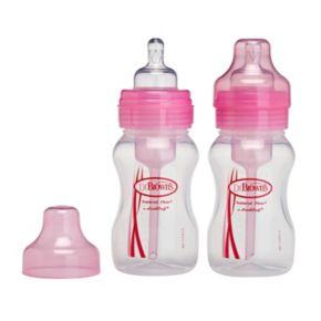 Dr. Brown's Natural Flow Wide-Neck Baby Bottles