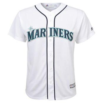 Boys 8-20 Majestic Seattle Mariners Replica MLB Jersey
