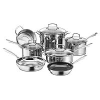 Cuisinart 11-pc. Professional Stainless Steel Cookware Set + $20 Kohls Cash