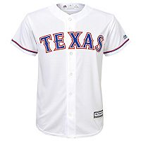 Boys 8-20 Majestic Texas Rangers Home Replica MLB Jersey